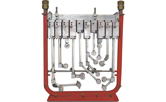 Used reciprocating spray manifolds, heads and nozzles