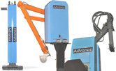 Used Advance Products Automation Reciprocating Die Sprayer, Linear Die Sprayers and Parts Extractors