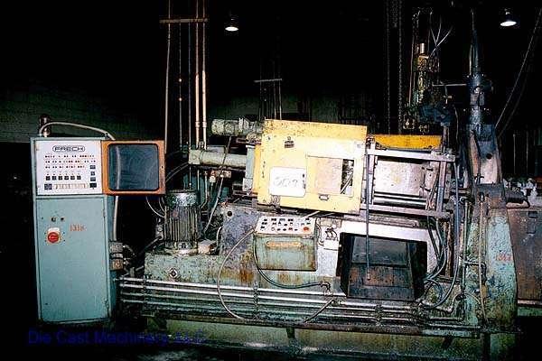 Picture of Frech DAW 63 Horizontal Hot Chamber Zinc (Zamak) High Pressure Die Casting Machine For Sale DCMP-1342