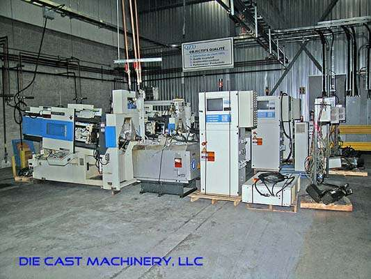 Picture of Frech DAW 50 S DCRC Horizontal Hot Chamber Zinc (Zamak) High Pressure Die Casting Machine For Sale DCMP-1526