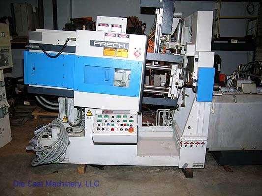 Picture of Frech DAW 20 S DCRC Horizontal Hot Chamber Zinc (Zamak) High Pressure Die Casting Machine For_Sale DCMP-1527