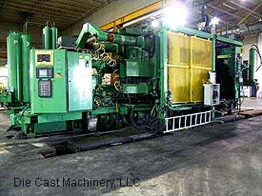 Picture of HPM II-1800-A Horizontal Cold Chamber Aluminum High Pressure Die Casting Machine For Sale DCMP-1587