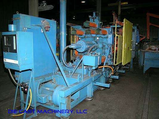 Picture of HPM II-600-A Horizontal Cold Chamber Aluminum High Pressure Die Casting Machine For Sale DCMP-1863