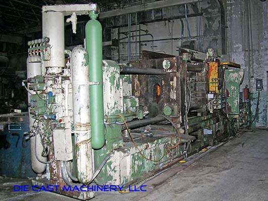 Picture of Italpresse IP-750 SC Horizontal Cold Chamber Aluminum High Pressure Die Casting Machine For_Sale DCMP-1889