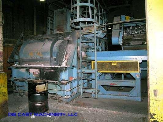 62-ACM, aluminum melting-holding gas furnace