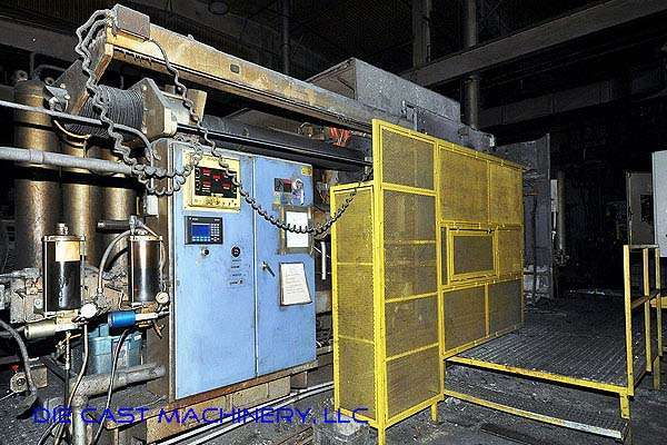 Picture of HPM II 1200-A Horizontal Cold Chamber Aluminum High Pressure Die Casting Machine For Sale DCMP-2162