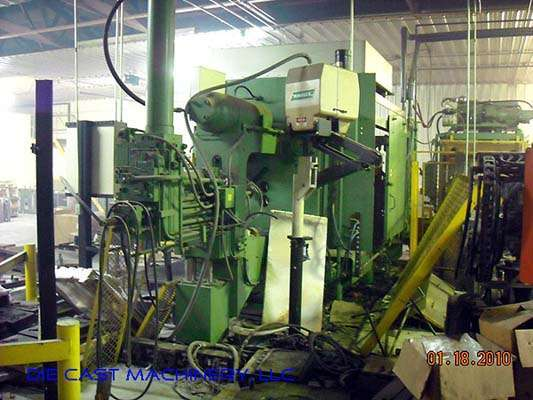 Picture of HPM II-600-A Horizontal Cold Chamber Aluminum High Pressure Die Casting Machine For Sale DCMP-2166