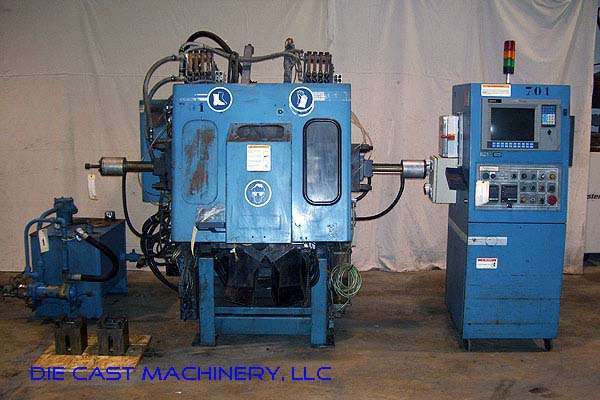 Picture of Techmire 66NT (6x6) Multi-slide Hot Chamber Miniature Zinc (Zamak) High Pressure Die Casting Machine For_Sale DCMP-2171