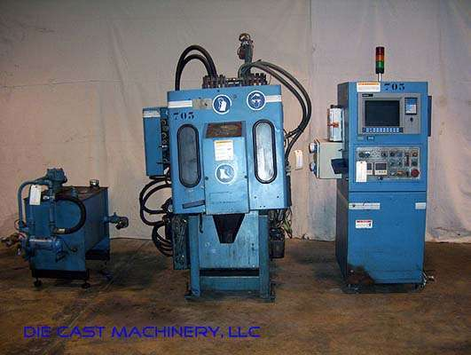 Picture of Techmire 22NT Multi-slide Hot Chamber Miniature Zinc (Zamak) High Pressure Die Casting Machine For_Sale DCMP-2172