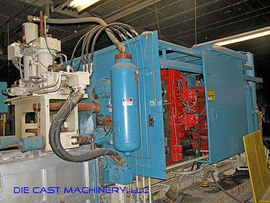Picture of HPM II-800-Z Horizontal Hot Chamber Zinc (Zamak) High Pressure Die Casting Machine For Sale DCMP-2195