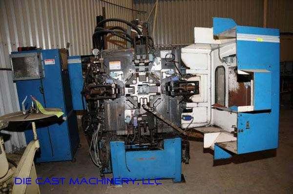 Picture of Techmire 44NT Multi-slide Hot Chamber Miniature Zinc (Zamak) High Pressure Die Casting Machine For_Sale DCMP-2246