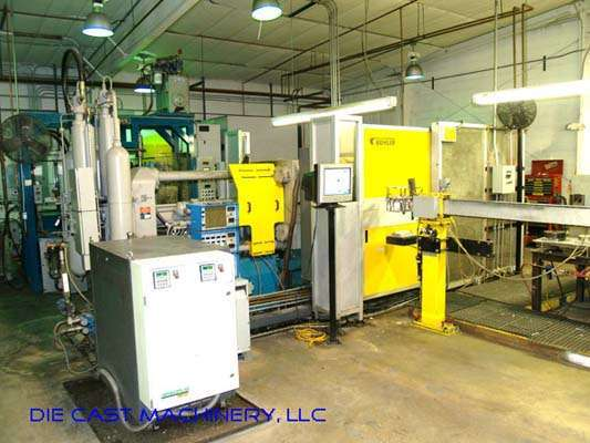 Picture of Buhler 34N (C-N/34) Horizontal Cold Chamber Aluminum High Pressure Squeeze Cast or Semi-Solid Die Casting Machine For_Sale DCMP-2294