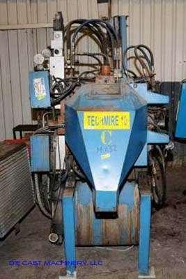 Picture of Techmire 22H Multi-slide Hot Chamber Miniature Zinc (Zamak) High Pressure Die Casting Machine For_Sale DCMP-2329