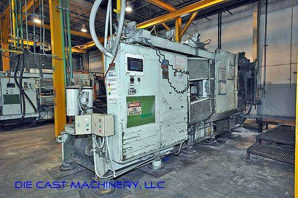 Picture of HPM II-900-A Horizontal Cold Chamber Aluminum/Magnesium Capable High Pressure Die Casting Machine For Sale DCMP-2341