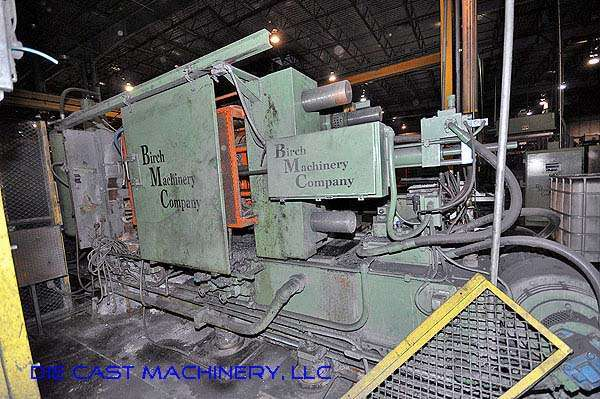 Picture of Kux-Wickes HP-625 Horizontal Cold Chamber Aluminum High Pressure Die Casting Machine For Sale DCMP-2371