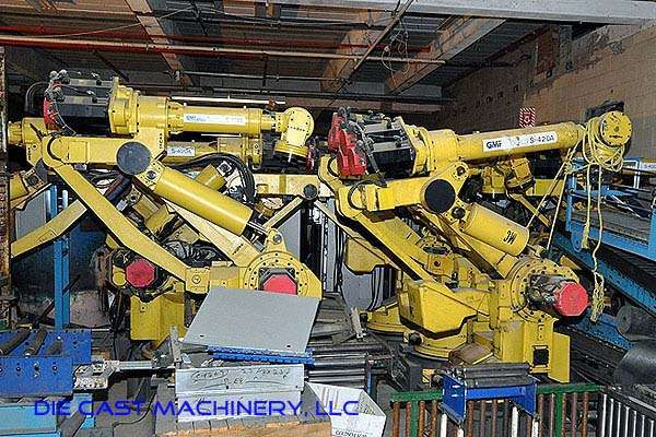 Second Hand Fanuc S 420a Foundry Grade Robot For Sale Dcm 2513