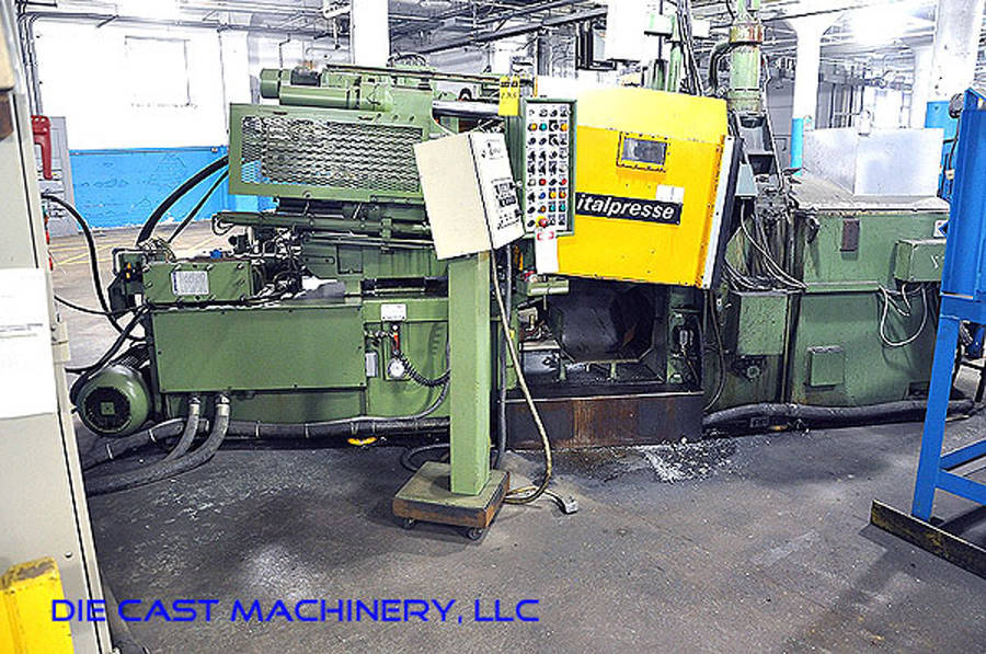 Picture of Italpresse IPZ 130 Horizontal Hot Chamber Zinc (Zamak) High Pressure Die Casting Machine For_Sale DCMP-2628
