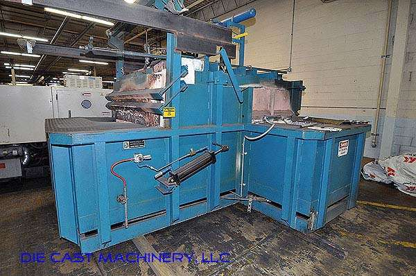 800 pounds per hour Reverb Aluminum Melting Furnace DCM 2693