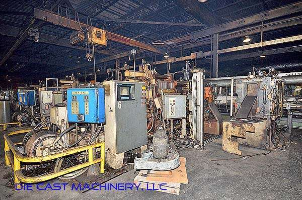 Picture of HPM D-600-Z Horizontal Hot Chamber Zinc (Zamak) High Pressure Die Casting Machine For Sale DCMP-2783