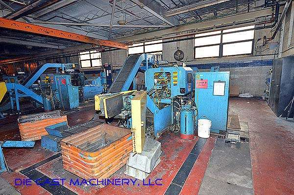 Picture of National H-55-ZX Horizontal Hot Chamber Zinc (Zamak) High Pressure Die Casting Machine For_Sale DCMP-2789