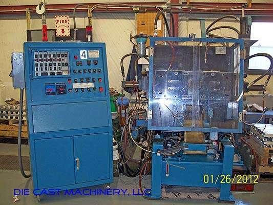 Picture of Techmire 66NT Multi-slide Hot Chamber Miniature Zinc (Zamak) High Pressure Die Casting Machine For_Sale DCMP-2843