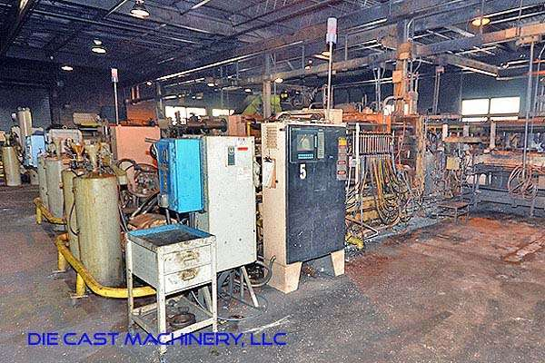 Picture of Kux-Wickes BH-600 Horizontal Hot Chamber Zinc (Zamak) High Pressure Die Casting Machine For Sale DCMP-2938