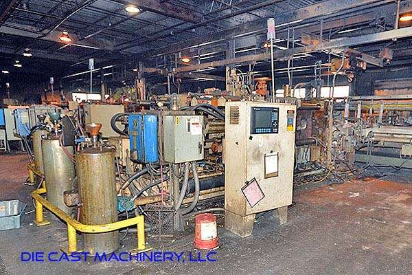 Picture of HPM D-600-Z Horizontal Hot Chamber Zinc (Zamak) High Pressure Die Casting Machine For Sale DCMP-2940