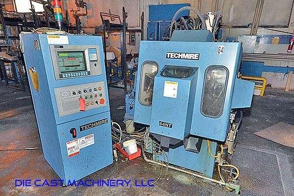 Picture of Techmire 44NT Multi-slide Hot Chamber Miniature Zinc (Zamak) High Pressure Die Casting Machine For_Sale DCMP-2945