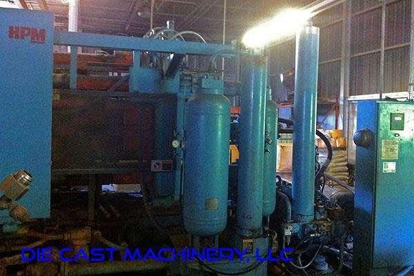 Picture of HPM II-600-Z Horizontal Hot Chamber Zinc (Zamak) High Pressure Die Casting Machine For Sale DCMP-3100