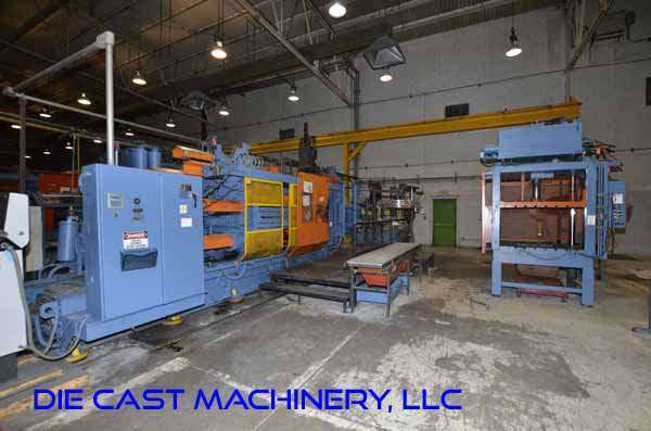 Picture of HPM II-900-A Horizontal Cold Chamber Aluminum High Pressure Die Casting Machine For Sale DCMP-3127