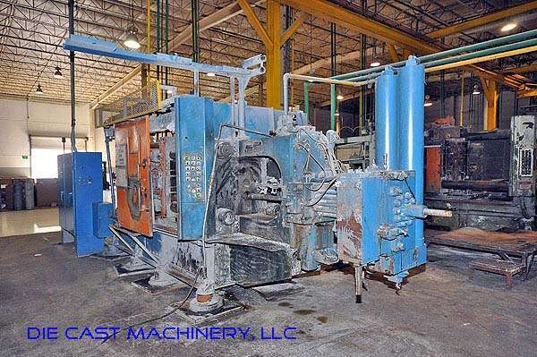 Picture of HPM II-400-A Horizontal Cold Chamber Aluminum/Magnesium Capable High Pressure Die Casting Machine For Sale DCMP-3135
