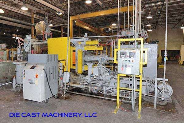 Picture of HPM II-600-A Horizontal Cold Chamber Aluminum High Pressure Die Casting Machine For Sale DCMP-3155