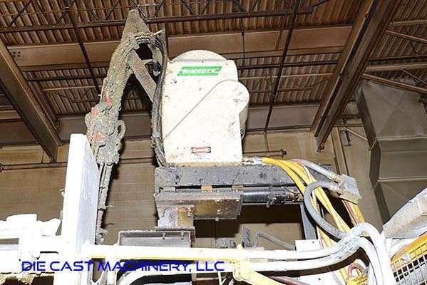 Picture of Rimrock 410 Multi-Link Automatic Reciprocating Die Lubrication Sprayer for Die Casting and Foundry Operations For_Sale DCMP-3175