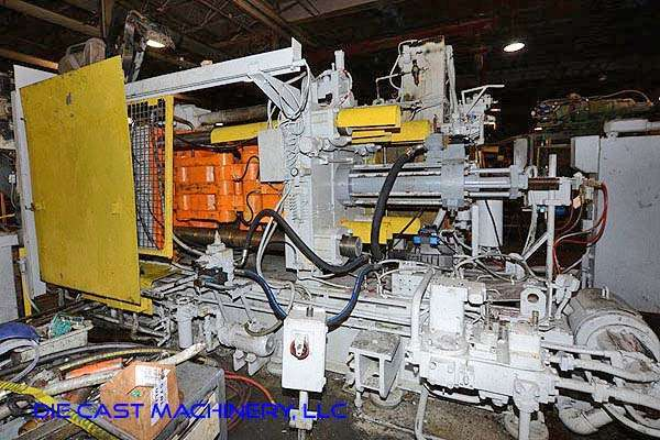Picture of HPM II-600-A Horizontal Cold Chamber Aluminum High Pressure Die Casting Machine For Sale DCMP-3178