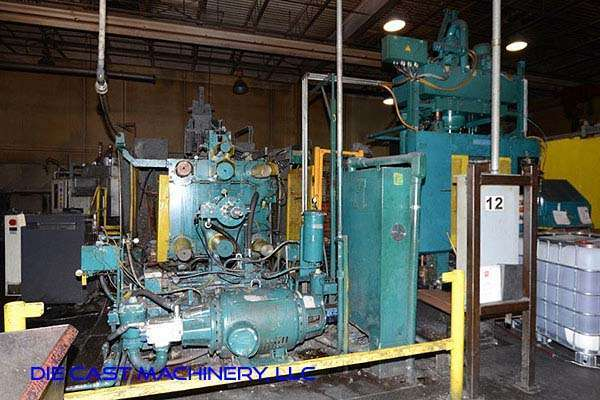 Picture of HPM II-800-A Horizontal Cold Chamber Aluminum High Pressure Die Casting Machine For Sale DCMP-3197
