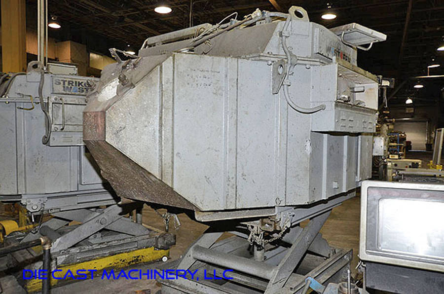 Picture of Striko Westofen Low Energy Electric Heated Aluminum Holding and Dosing Furnace DCMP-3237