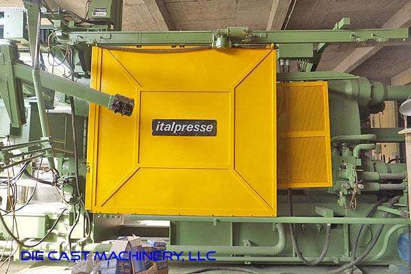 Picture of Italpresse IP/1250-SC Horizontal Cold Chamber Aluminum/Magnesium Capable High Pressure Die Casting Machine For_Sale DCMP-3263