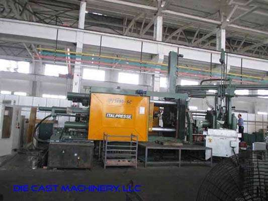 Picture of Italpresse IP/1650-SC Horizontal Cold Chamber Aluminum/Magnesium Capable High Pressure Die Casting Machine For Sale DCMP-3292