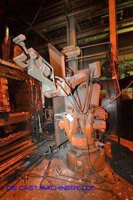 Picture of ABB IRB 6400 Six Axis Foundry Rated Industrial Robot with Extractor Package/Gripper for Extracting Die Castings For_Sale DCMP-3382