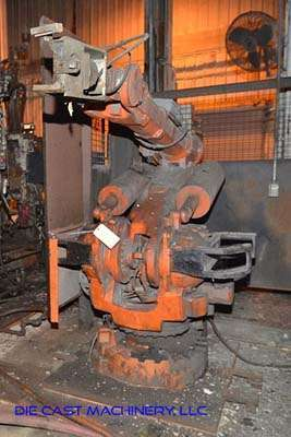 Picture of ABB IRB 6400 Six Axis Foundry Rated Industrial Robot with Extractor Package/Gripper for Extracting Die Castings For_Sale DCMP-3397