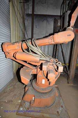 Picture of ABB IRB 6400 Six Axis Foundry Rated Industrial Robot with Extractor Package/Gripper for Extracting Die Castings For_Sale DCMP-3405