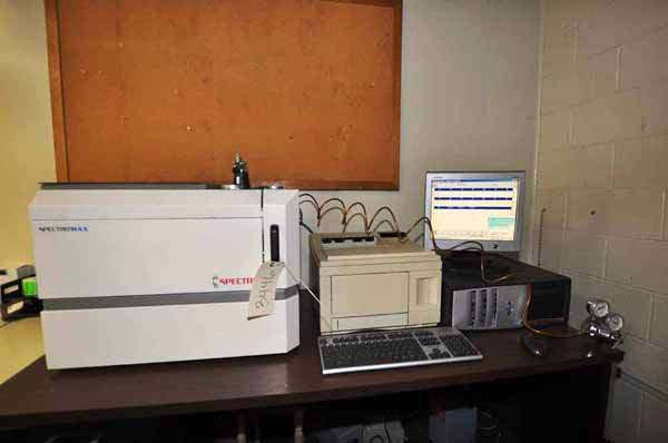 Picture of Spectro Analytical Spectromaxx CCD Metal Analytic Spectrometer For_Sale DCMP-3446