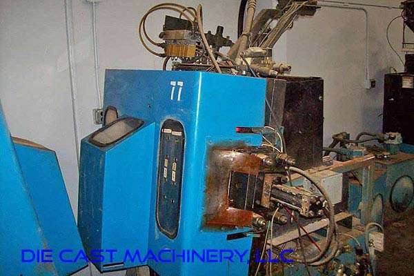 Picture of Techmire 66ZNT (6x6) Multi-slide Hot Chamber Miniature Zinc (Zamak) High Pressure Die Casting Machine For_Sale DCMP-3491