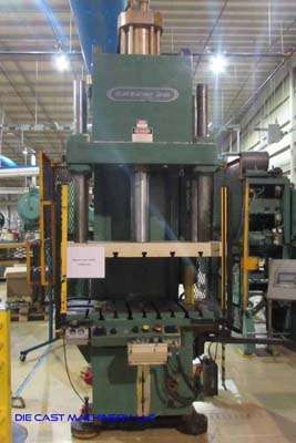 Picture of Greenerd HCA-100-57R27 C-Frame (Gap Frame) Vertical Hydraulic Die Cast Trimming Press For_Sale DCMP-3525