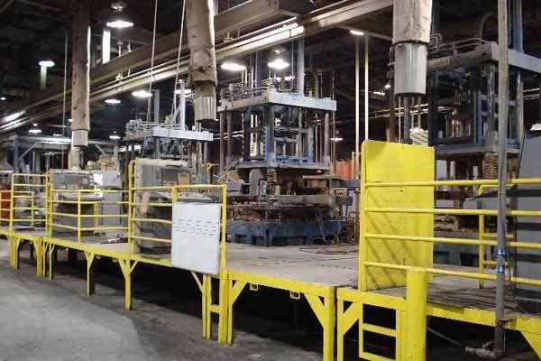 Picture of Kurtz AL 13-13 TC Vertical Low Pressure Permanent Mold Aluminum Die Casting Machine For_Sale DCMP-3528