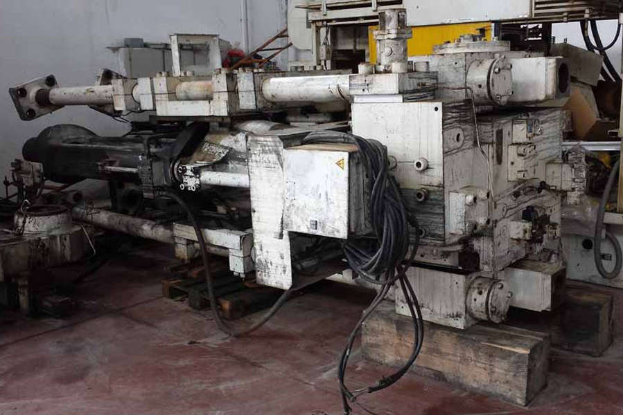 Picture of Ube VSC1250 Vertical Cold Chamber Aluminum High Pressure Squeeze Cast or Semi-Solid Die Casting Machine For Sale DCMP-3593