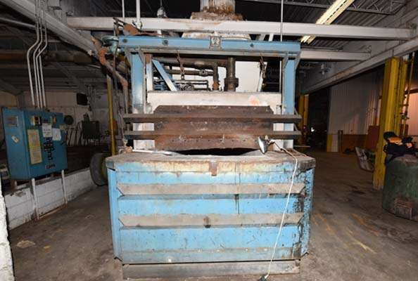 Picture of FW Schaefer  Reverberatory Type Wet Bath Stationary Aluminum Melting and Holding Furnace For_Sale DCMP-3632