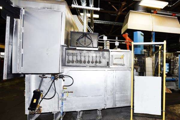 Picture of FW Schaefer AM-400 Reverberatory Type Wet Bath Stationary Aluminum Melting and Holding Furnace For_Sale DCMP-3696