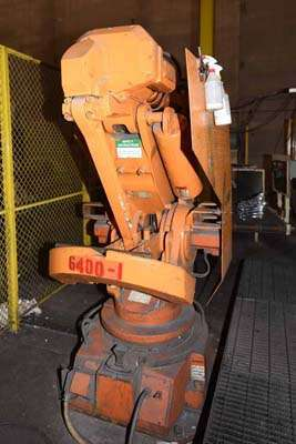 Picture of ABB IRB 6400 M94A-2.4-120 Six Axis Industrial Robot with Extractor Package/Gripper For Extracting Die Castings For_Sale DCMP-3711