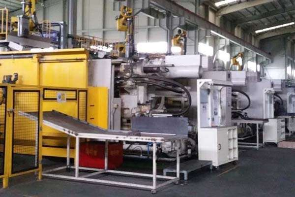 Picture of Ube UB850iS2 Horizontal Cold Chamber Aluminum High Pressure Die Casting Machine For Sale DCMP-3781